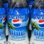 Pepsi Blue Hawaii, pineapple-orange flavor.